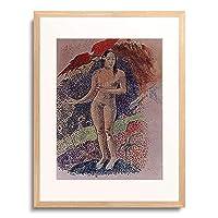 ポール・ゴーギャン Eugène Henri Paul Gauguin 「Tahitian Eve. 1891.」 額装アート作品