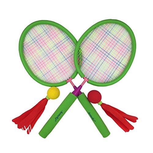 (アワンキー) Aoneky バドミントン ラケット セット スポンジハンドル 子供用 おもちゃ ス...