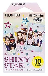 FUJIFILM インスタントカメラ チェキ用フィルム 10枚入 絵柄 (シャイニースター) INSTAX MINI STAR WW1