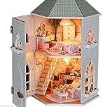 ドールハウス 手作りキットセット ミニチュア 木製家具付き DIY Love forts