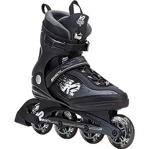 [ケーツー] KINETIC 80 PRO M キネティック 80 プロ メンズ インラインスケート ブラック/ホワイト I180202101
