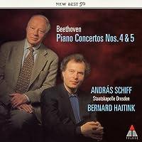 ベートーヴェン:ピアノ協奏曲第4番&第5番(皇帝)