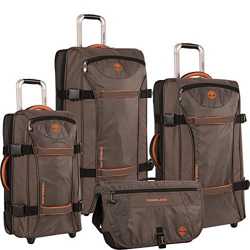 ティンバーランド バッグ スーツケース Twin Mountain 4 Piece Luggage Set Cocoa [並行輸入品]
