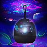 Star Projector Night Light for Kids - 360 Degree Rotating, 4 Optional Themes-Universe Planet/Underwater World/Carousel/Star Sky Light Projector Lamp for Bedroom 2 3 5 6 4 Years Old Girl/Boy Gift
