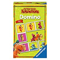 "Ravensburger 234349 Domino""The Little Dragon Coconut"""