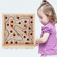 Funny Toyyクリエイティブ木製子Mazeビーズボード知的開発数学ブロックおもちゃベビーキッズバランス&手Graspインテリジェンスおもちゃ