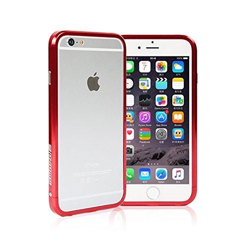 iPhone6/6S アルミ製メタルバンパー最新型【SWORD】【メーカー純正・真正品】 (レッド)
