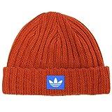 (アディダス) adidas ニット帽 フィッシャーマン ビーニー サイズ57-60cm ダークオレンジ