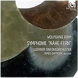 リーム : 新作交響曲 (Wolfgang Rihm : Symphonie ''Nahe Fern'' / Luzerner Sinfonieorchester , James Gaffigan) [輸入盤]