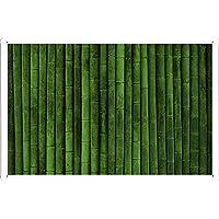 竹の壁のティンサイン 金属看板 ポスター / Tin Sign Metal Poster of Bamboo Wall