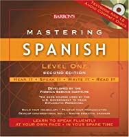 Barron's Mastering Spanish (Mastering Series/Level 1 Compact Disc Packages)