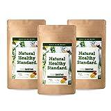 【セット】Natural Healthy Standard.ナチュラルヘルシースタンダード ミネラル酵素グリーンスムージー マンゴー味 160g (2017年リニュ..