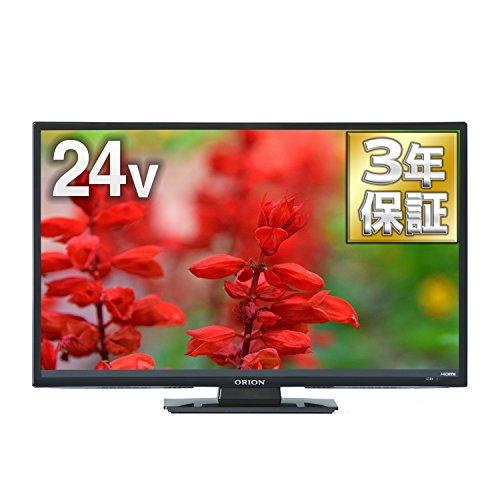 オリオン 24V型 ハイビジョン 液晶テレビ メーカー3年保証 外付けHDD 裏番組録画対応 RN-...