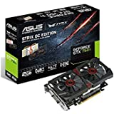 ASUS STRIX GeForce GTX 750TI Overclocked 2 GB DDR5 128-bit DisplayPort HDMI 1.4a DVI-I Graphics Card [並行輸入品]