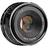Meike 固定焦点レンズ 単焦点レンズ 35mm F1.7 ミラーレースカメラ対応 APS-C手動フォーカスレンズ 選べる5マウント キャノンマウント