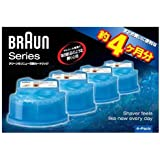 【数量限定】ブラウン クリーン&リニュー専用洗浄液カートリッジ(4個入) CCR4-CR 家電 理美容家電 シェービング…