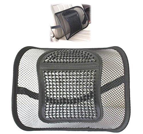 ランバーサポート 腰クッション メッシュ 車 オフィス 椅子 腰当て 涼しい 汗ムレ軽減 腰痛対策 レジャー 腰にやさしいやわらかタイプ
