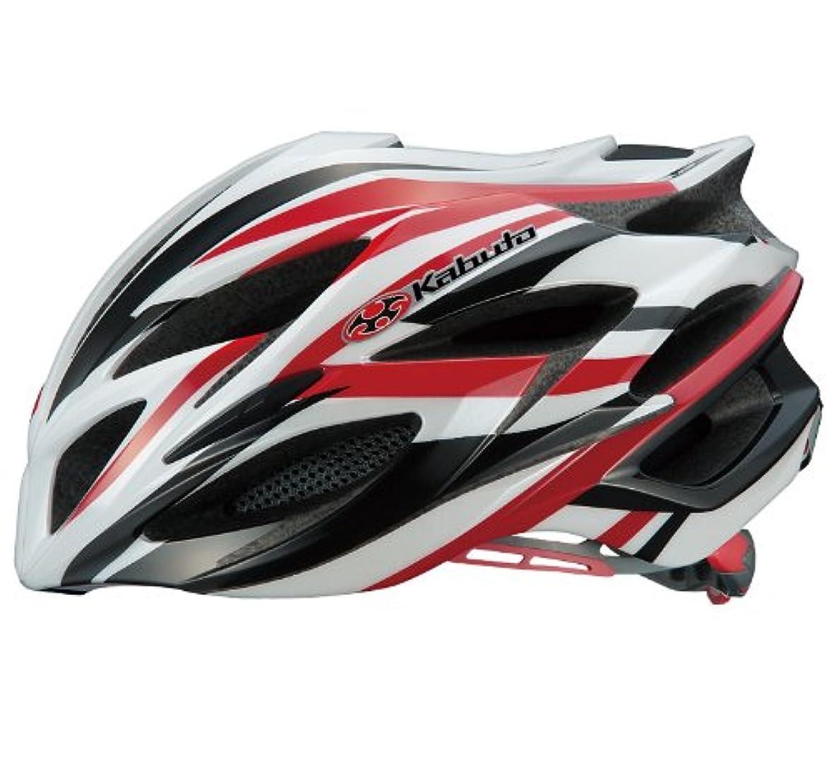 拒絶するアルバニーチャップOGK KABUTO(オージーケーカブト) ヘルメット STEAIR スポーツレッド サイズ:L/XL