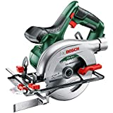 Bosch Cordless Circular Saw PKS 18 LI (Without Battery, 18 Volt System, Saw Blade and Parallel Guide Included, in Box)