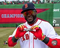 "David OrtizボストンレッドソックスFenway Park 2014ワールドシリーズリングCelebrationフォト8"" x 10"""