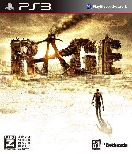 RAGE  レイジ  CERO区分 Z PS3 ソフト BLJM-60994 /  ゲーム
