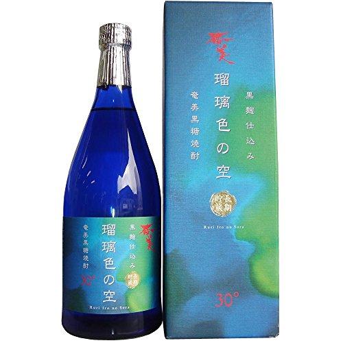 奄美酒類 瑠璃色の空 720ml [鹿児島県]