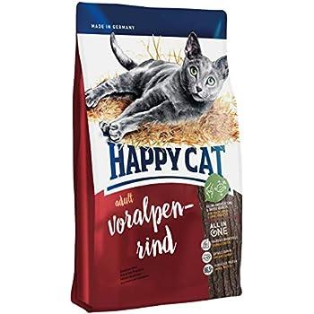HAPPY CAT スプリーム フォアアルペン リンド (アルパインビーフ) 成猫用ドライフード 全猫種 デンタルケア (300g)