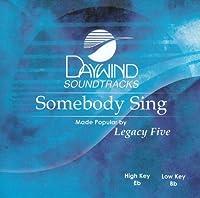 Somebody Sing [Accompaniment/Performance Track]【CD】 [並行輸入品]