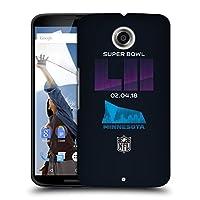 オフィシャル NFL USバンク・スタジアム3 2018 Super Bowl LII Motorola Nexus 6 / Nexus X 専用ハードバックケース
