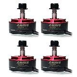 ARRIS(アリス) S2205 2300KV ブラシレスモーター FPVレースクワッド用 (CW 2個+ CCW 2個) 画像