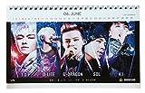 BIGBANG ビッグバン 2017年 2018年 (2年分) 卓上カレンダー+イヤホンジャック付ストラップ グッズ 30