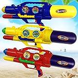 水鉄砲のおもちゃ屋外高圧ポンプ水鉄砲のおもちゃ夏のビーチ水遊びおもちゃ水鉄砲子供の日の贈り物 ( Color : Red , Size : L )