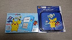 任天堂 Nintendo ニンテンドー2DS ポケットモンスター サン・ムーン ライトブルー と専用ハードポーチ ポケットモンスター サン・ムーン