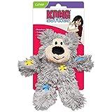 KONG Softies Patchwork Bear Catnip Toy