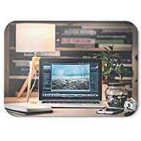 Westlake Art - Desk Pro - マウスパッド - ノンスリップゴム写真 ホーム オフィス コンピュータ ノートパソコン PC Mac - 8x9インチ (D41D8)