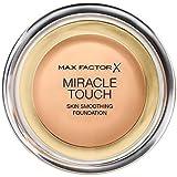マックスファクターの奇跡のタッチ基盤黄金の75 x2 - Max Factor Miracle Touch Foundation Golden 75 (Pack of 2) [並行輸入品]