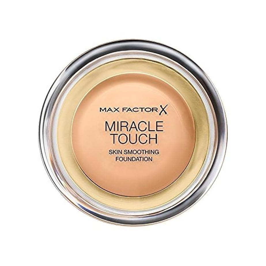 オーガニックヘルメットグラスマックスファクターの奇跡のタッチ基盤黄金の75 x2 - Max Factor Miracle Touch Foundation Golden 75 (Pack of 2) [並行輸入品]