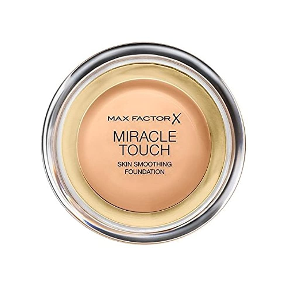 薬用輝度香りマックスファクターの奇跡のタッチ基盤黄金の75 x2 - Max Factor Miracle Touch Foundation Golden 75 (Pack of 2) [並行輸入品]