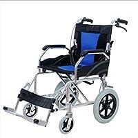 車イス レジャー車椅子折りたたみ式 アルミニウム合金 4つのブレーキ付きのポータブル 多機能