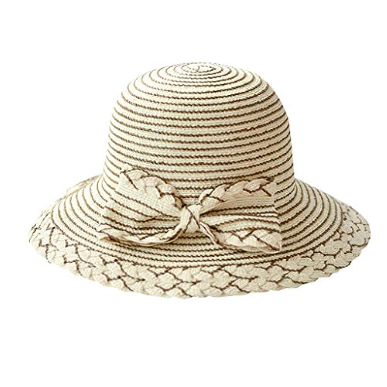 ウェーハお光の夏 帽子 レディース UVカット 帽子 ハット レディース 日よけ 夏季 女優帽 日よけ 日焼け 折りたたみ 持ち運び つば広 吸汗通気 ハット レディース 紫外線対策 小顔効果 ワイヤー入る ハット ROSE ROMAN