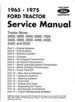 1965–1975フォード・トラクター2000–7000サービスマニュアルBook