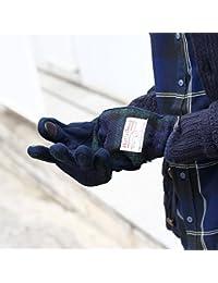 (ベース ステーション) BASE STATION 【スマホ対応】グローブ(手袋) ハリスツイード生地使用 26293012