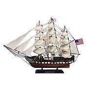 """おもちゃ USS Constitution 24"""" - Old Ironsides - Replica Wood Boat - Model モデル Ship [並行輸入品]"""