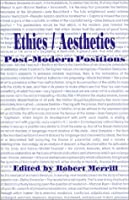 Ethics/Aesthetics: Post-Modern Positions (Postmodernpositions)