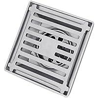 Perfk 排水口 ステンレス キッチン バスルーム ガレージ 実用的  ストレーナカバー