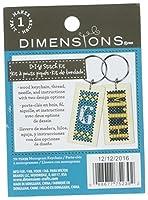 Dimensions 72-75239 1 x 2 in. Keychain