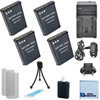 4en-el23電池for Nikon +車/ホーム充電器for Nikon Coolpix p600カメラ& Moreモード+ Complete Starterキット