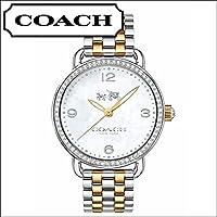 コーチ デランシー DELANCEY クオーツ レディース 腕時計 14502484 シェルホワイト [並行輸入品]