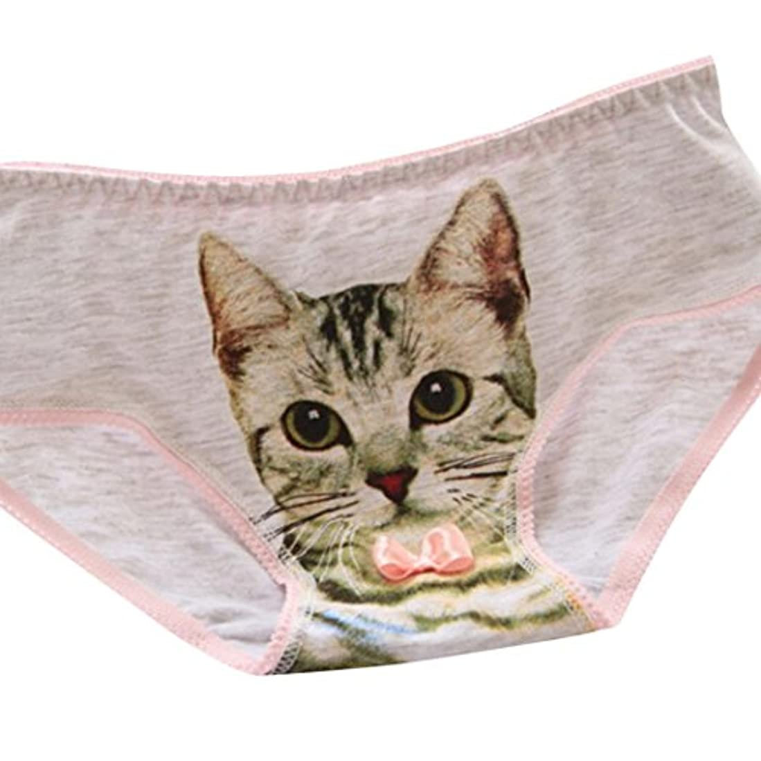 満たすクレデンシャルテクスチャーKohore レディース セクシー パンティ 可愛い 3D 猫柄 新型 三角 綿 Tバック 下着 多色 過激 ランジェリー 見せパン ビキニ パンツ 誘惑 エッチ Tショーツ エロ 女性 パンティー Gストリング プレゼント