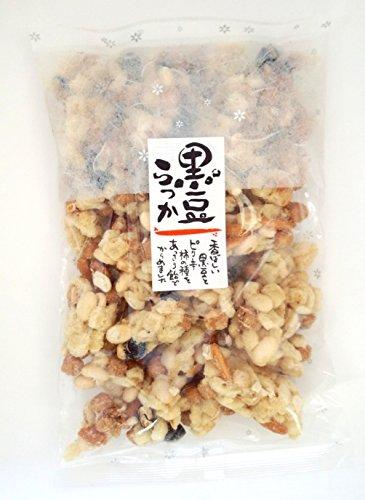 日進堂製菓 黒豆らっか 180g